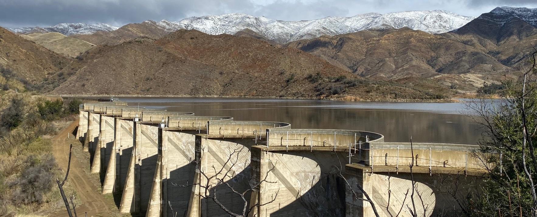 Juncal Dam, 2020