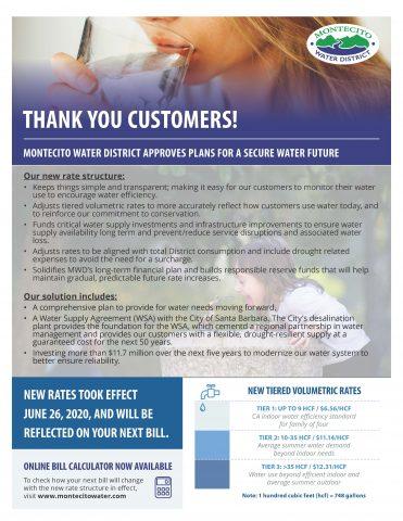 July 2020 Customer Flyer (Bill Insert) Page 1