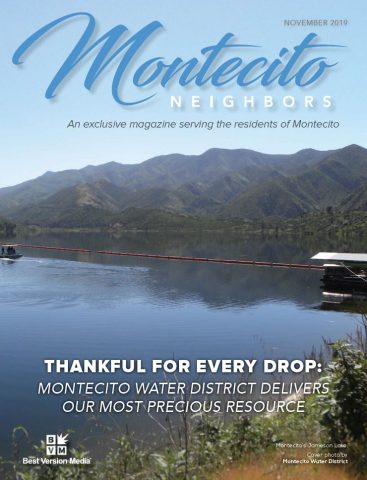 Montecito Neighbors Magazine Cover November, 2019