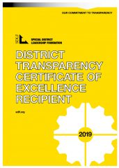 District Transparency Certificate of Excellence Recipient logo
