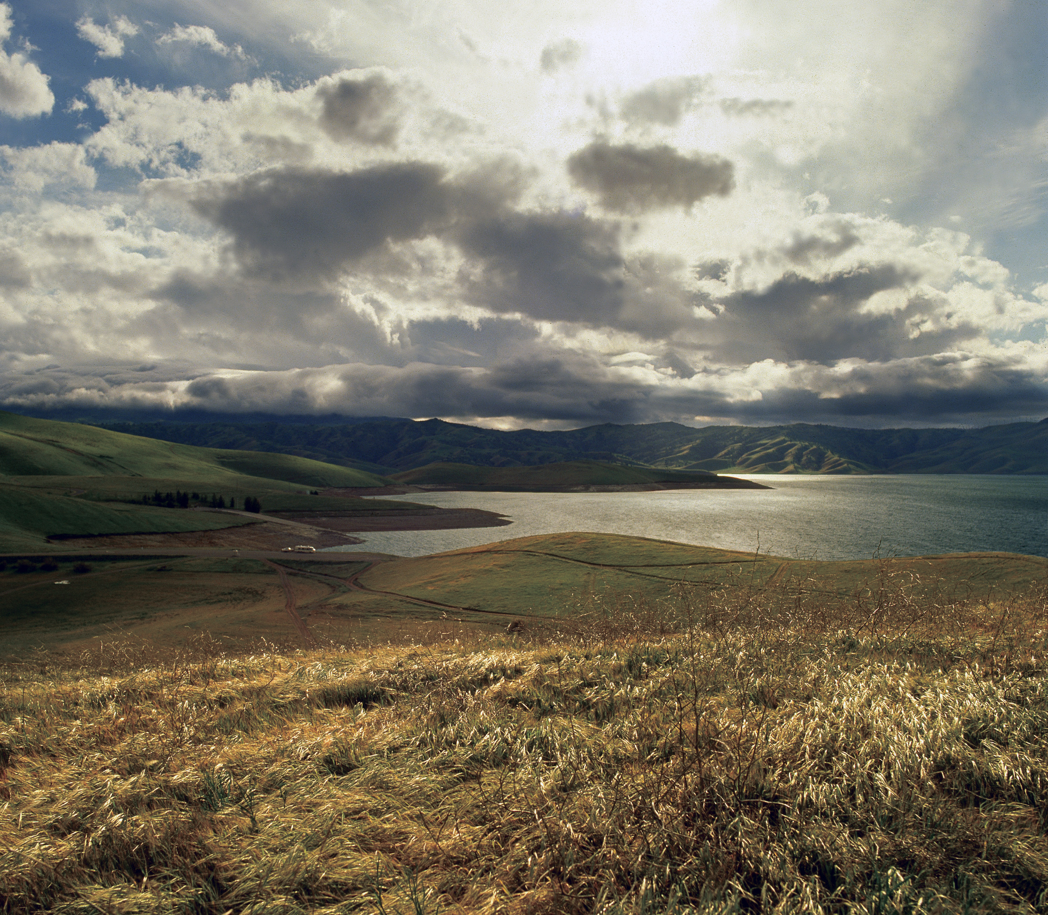 San Luis Reservoir in California